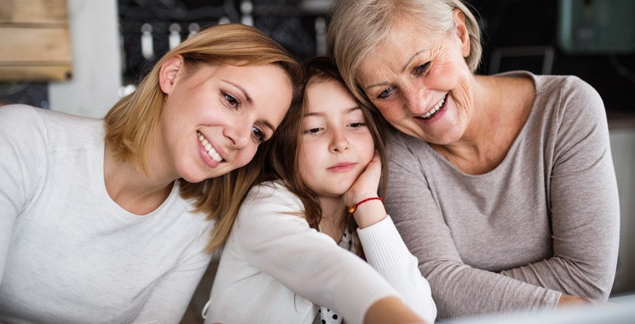 What advice would you pass onto the next generation? Family Image