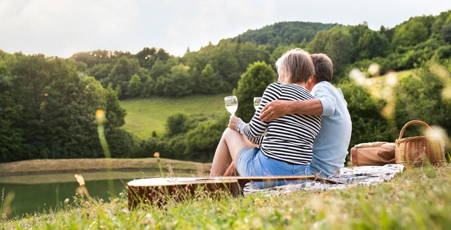 Couple enjoying their annuity lifestyle